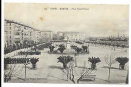 2B-BASTIA- Place Saint-Nicolas...  Animé  Revue Militaire - Bastia
