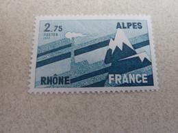 Régions - Rhône-Alpes - 2f.75 - Bleu-vert Foncé - Neuf Sans Charnière - Année 1977 - - Nuovi