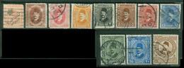 Afrique - EGYPTE - Yt Poste 73 86 87 118 119 122 123 124 125 125A 159 LIQUIDATION Oblitérés - Used Stamps