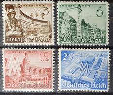 Deutsches Reich 1940, Mi 739-42 MNH Postfrisch - Ongebruikt