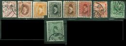 Afrique - EGYPTE - Yt Poste 73 86 118 119 122 123 70 72 125 LIQUIDATION Oblitérés - Used Stamps