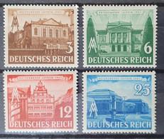 Deutsches Reich 1941, Mi 764-67 MNH Postfrisch - Ongebruikt