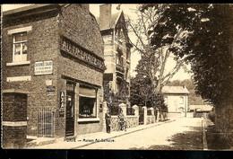 CP ( Dave : Maison Ad Delhaize) Obl. CONVOYEUR - TRAIN - TREIN 1935 - Ambulante Stempels