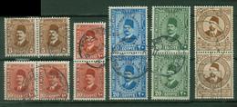 Afrique - EGYPTE - Yt Poste Paires LIQUIDATION Oblitérés - Used Stamps