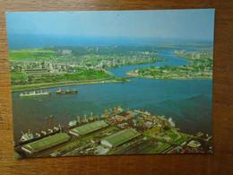 Nigeria , Lagos , Showing Part Of Lagos Island , Ikoyi , Victoria Island And Apapa Port - Nigeria
