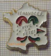 FENAVOCEF Fédération Nationale Des Villes Organisatrices De Carnavals Et Festivités  VIVE LA FETE CARTE DE FRANCE - Associations