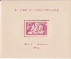 """FRANCE 1937 - Bloc """" ARTS ET TECHNIQUES """"  WALLIS ET FUTUNA Neuf** Gomme D'origine - Blocks & Sheetlets & Booklets"""