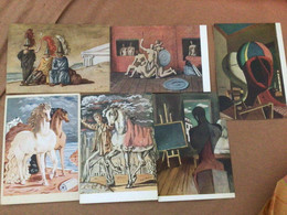 Peintre Giorgio De Chirico X 6 Tableaux - Malerei & Gemälde