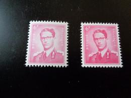 1069 1069a Xx MNH Kleuren - Couleurs Boudewijn Marchand - 1953-1972 Anteojos
