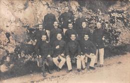 Carte Photo Militaire Français LOURDES-65-Hautes-Pyrénées-Dépôt Prisonniers De Guerre-Stempel-Cachet-Tampon-57-Metz - Lourdes