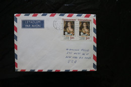 Czechoslovakia Veronese Painting Pair On Cover To Th US 1989 A04s - Brieven En Documenten