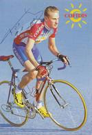 CARTE CYCLISME FRANK VANDENBROUCKE SIGNEE TEAM COFIDIS 2000 - Cycling