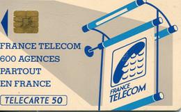 TELECARTE  France Telecom  50 UNITES.  .1.000.000.  EX. - Telecom Operators