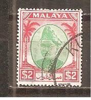 Malasia - Selangor. Nº Yvert  60 (usado) (o) - Selangor