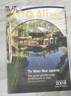 ZOO MAGAZINE AUCKLAND. NOUVELLE ZELANDE . 2011. 29,5x21CM. 14 PAGES. - Sonstige