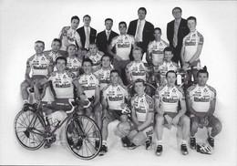 CARTE CYCLISME GROUPE TEAM BIGMAT 2000 - Cycling