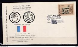 Brief Van Aereo 5 60 Pesos Asociacion Filatelica Tematica Argentina - Briefe U. Dokumente