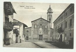 SANFRONT - PIAZZA FERRERO - PARROCCHIA S.MARTINO VIAGGIATA   FP - Cuneo