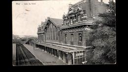 1496-HUY-gare Station Statie Du Nord - Huy