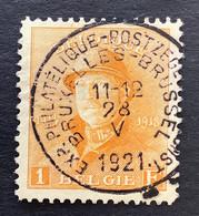 OBP 175 - 1fr Met EC EXPOSITION PHILATELIQUE BRUXELEES - 1919-1920  Re Con Casco