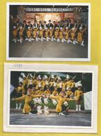 18 - Cher - Saint Amand Montrond - Lot De 2 Photos De 1998 - 15 / 10 Cm - Music-hall Majorettes - Une Collée Sur Carton - Saint-Amand-Montrond