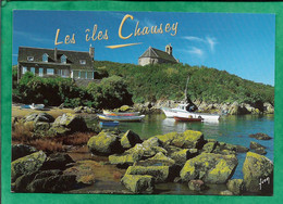 Les îles Chausey (Granville 50) La Grande île 2scans Chapelle - Granville