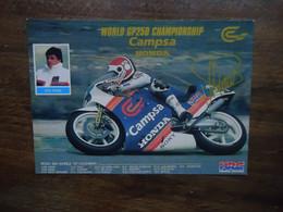 Carte Postale Sito PONS - HONDA - World GP250 Championship MOTO GP - Motorcycle Sport