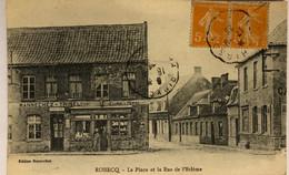 ROBECQ-La Place Et La Rue De L'Ecleme - Andere Gemeenten