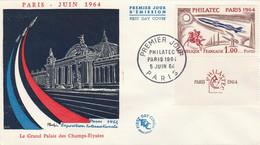 1422 FDC. PHILATEC 1964 - 1960-1969