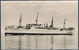 M.S. Meonia / East Asiatic Company - Real Photo Postcard - Piroscafi