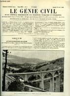 Le Génie Civil Tome XCIII N° 8 - Le Viaduc En Maçonnerie De La Bonne, Sur La Ligne De La Mure A Gap Par Pierre Delattre, - Otros