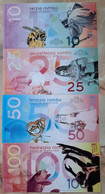 Bueno Chini - Set 4 Banknotes 10 25 50 100 Rombo 2020 UNC Polymer Lemberg-Zp - Other - America