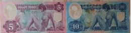 Chech Bohemia - Set 2 Banknotes 5 + 10 Korun 2020 UNC Polymer Lemberg-Zp - Other - America
