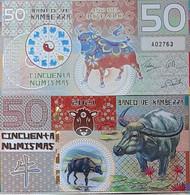 Kamberra - 50 Numismas 2021 UNC Year Of The Ox Polymer Lemberg-Zp - Autres - Amérique