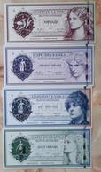 Pratny - Set 4 Banknotes 1000 5000 10000 20000 Hiladu 2020 UNC Polymer Lemberg-Zp - Autres - Amérique