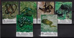 CUBA 2020. SERPIENTES ENDÉMICAS DE CUBA. MNH. SNAKES - Unused Stamps