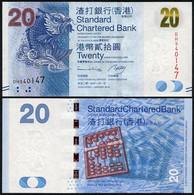 Hong Kong - 20 Dollars 2014 P. 297d UNC SCB Lemberg-Zp - Hong Kong