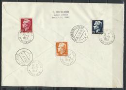 FZ-/-038- SUPER DOC. FDC En REC. HELSINKI J.O. 1952, CIRCULÉ , TTB - N° 386/91 -  VOIR LES IMAGES POUR DETAILS - Used Stamps