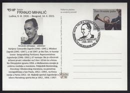 Croatia Zagreb 2020 / Franjo Mihalic / Marathon, Athletics / Silver Medal Winner On The Olympic Games Melbourne 1956 - Croatie