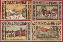 Allemagne 4 Notgeld  Stadt  Goldap (SERIE COMPLETE  Réf-- 451/1-- Recueil Manfred Mehl) Dans L 'état Lot N° 23 - Colecciones