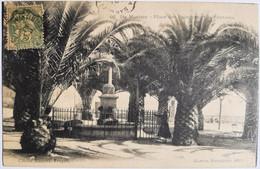 STE MAXIME - Place Des Palmiers Et La Fontaine - Sainte-Maxime