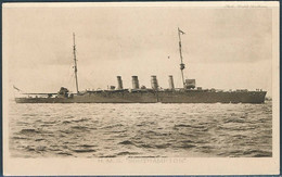 H.M.S Southampton / Tuck's, Our Navy, Series XII - Guerra