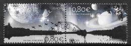 Finlande 2009 N°1934/1935 Oblitérés En Paire Europa Astronomie - Nuevos