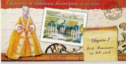 Carnet Adhésif -LES CHATEAUX- N° B726 - NEUF -LUXE** - Commémoratifs