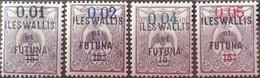 R2452/1687 - 1922 - WALLIS ET FUTUNA - SERIE COMPLETE - N°26 à 29 NEUFS* - Unused Stamps