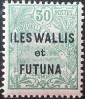 R2452/1689 - 1927/1928 - WALLIS ET FUTUNA - N°40 NEUF* - Unused Stamps
