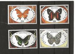 ANTIGUA 1329-A-B-C-D  (4V)1991 MICHEL NUEVO - Antigua And Barbuda (1981-...)