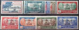R2452/1693 - 1939/1940 - WALLIS ET FUTUNA - SERIE COMPLETE SAUF N°86 - N°77 à 85 NEUFS* - Unused Stamps