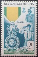 R2452/1697 - 1952 - WALLIS ET FUTUNA - MEDAILLE MILITAIRE - N°156 NEUF** - Unused Stamps