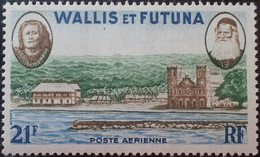 R2452/1703 - 1955/1960 - WALLIS ET FUTUNA - POSTE AERIENNE - N°16 NEUF* - Unused Stamps